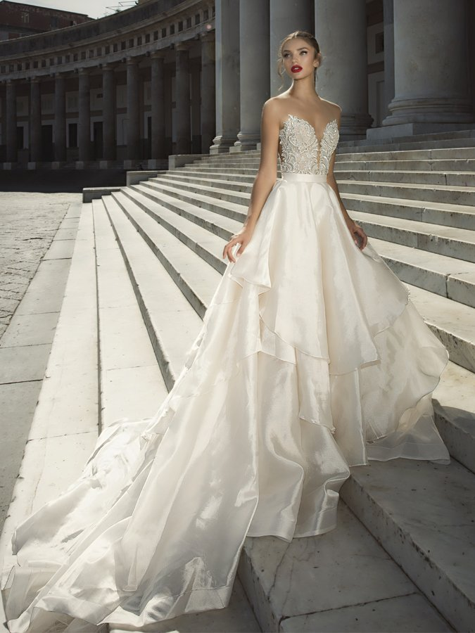 Bridal wedding dresses gowns in london surrey for Designer wedding dresses uk