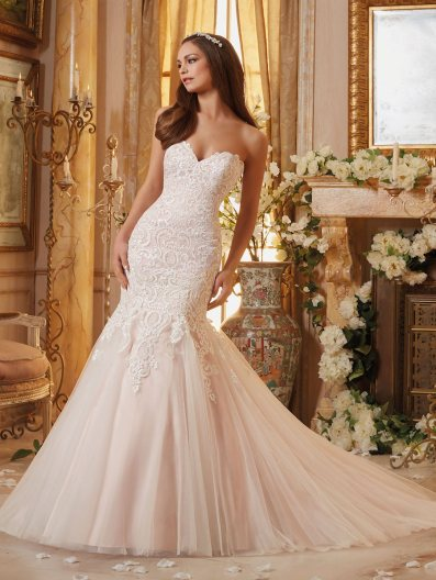 5461 gown by Mori Lee