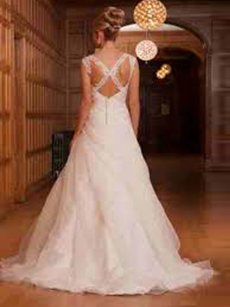 wedding dress - op havana back