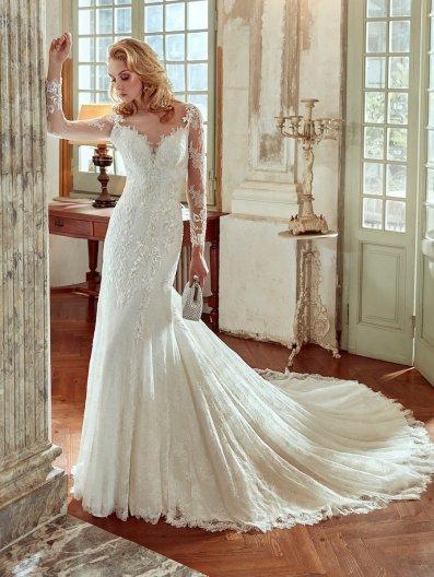 NIAB17007 bridal gown by Nicole Spose