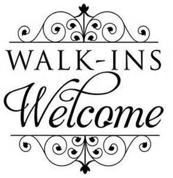 Walk in Welcome