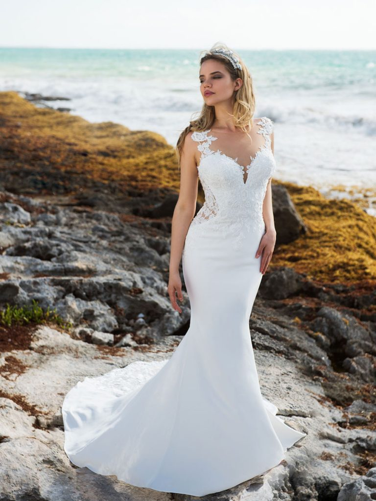 Ivory or Eggshell Gown