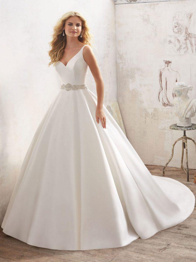 Stark White gown