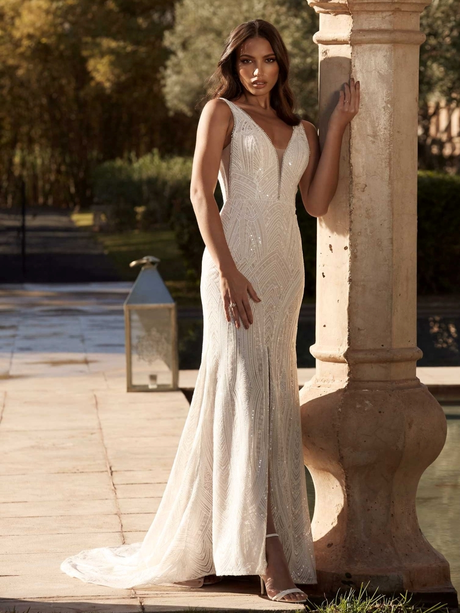 ADLEY-ML15997-FULL-LENGTH-FITTED-EMBROIDERED-LACE-GOWN-WITH-PLUNGIN-NECKLINE-SEQUIN-EMBELIISHMENTS-AND-LOW-BACK-WEDDING-DRESS-MADI-LANE-BRIDAL_4