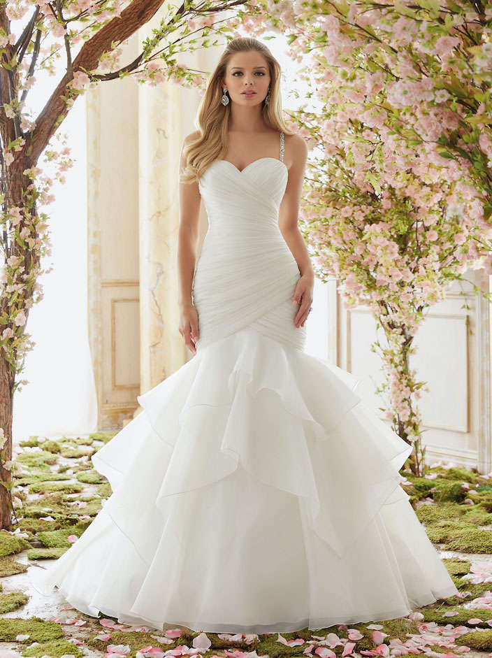 6833 bridal gown by Mori Lee